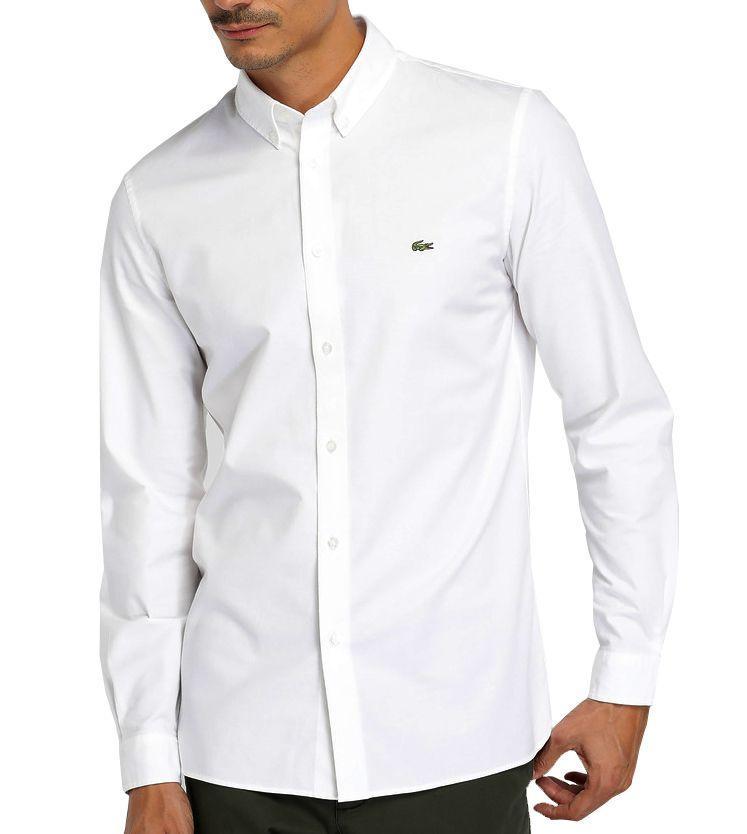 Camisa Social LCT Branca 2  - Ca Brasileira