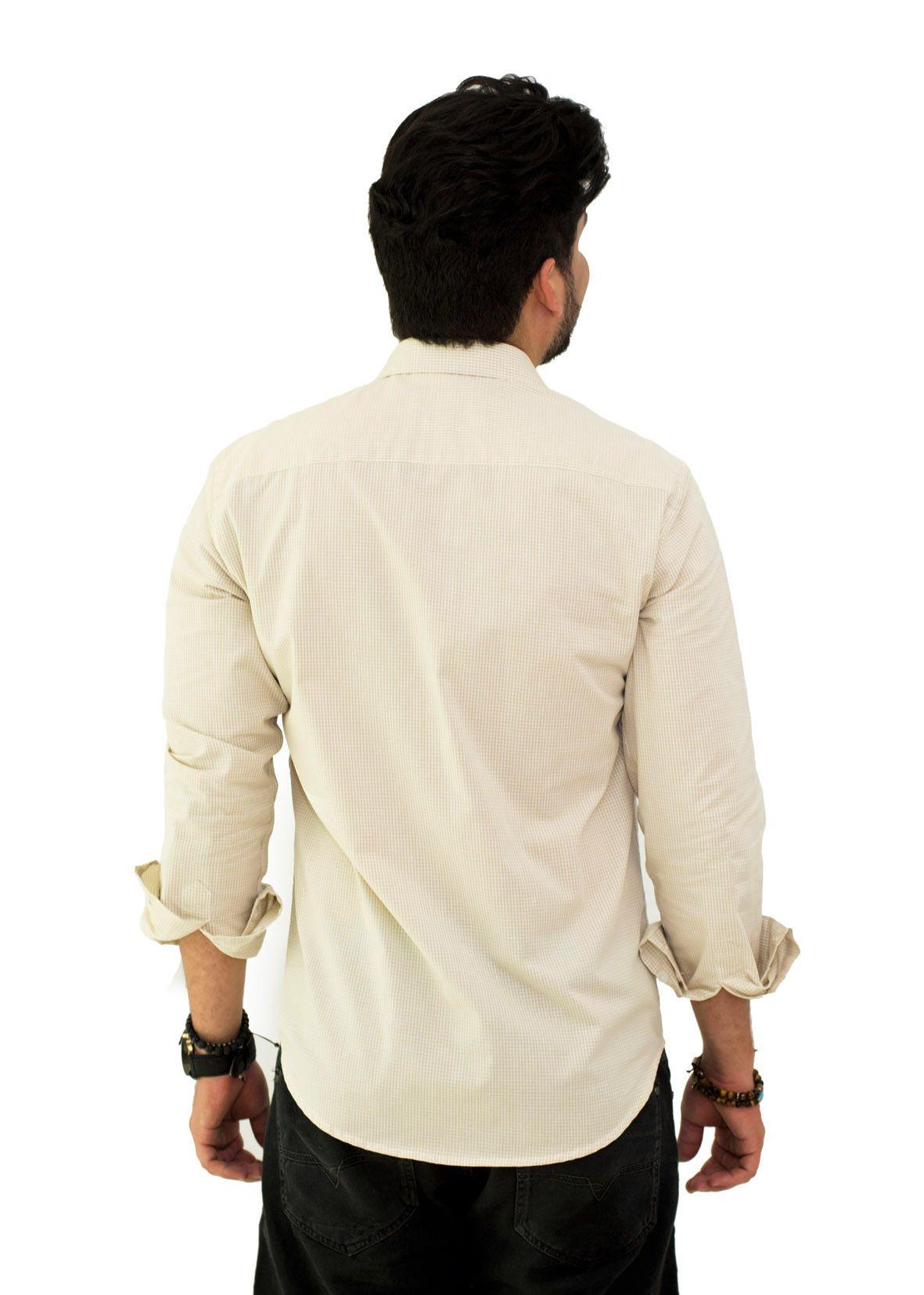 Camisa Social LCT  Xadrez  - Ca Brasileira