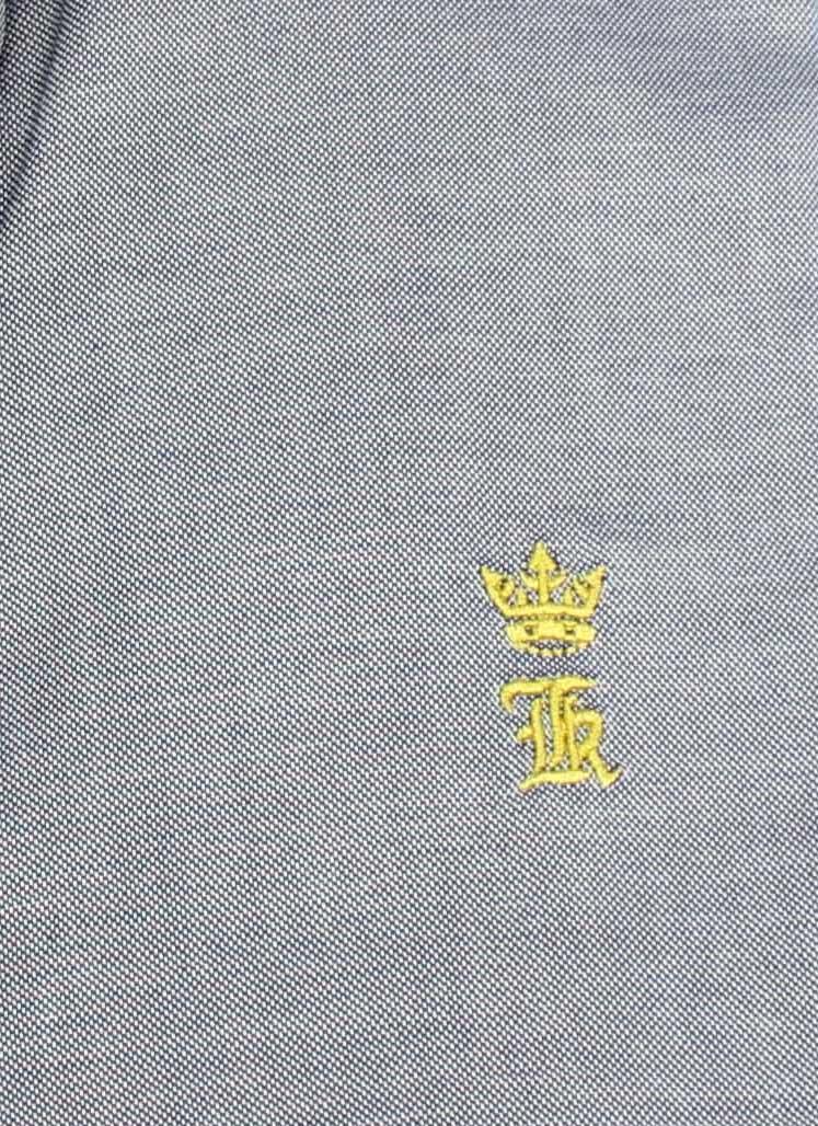 Camisa Social SK Oxford Azul   - Ca Brasileira