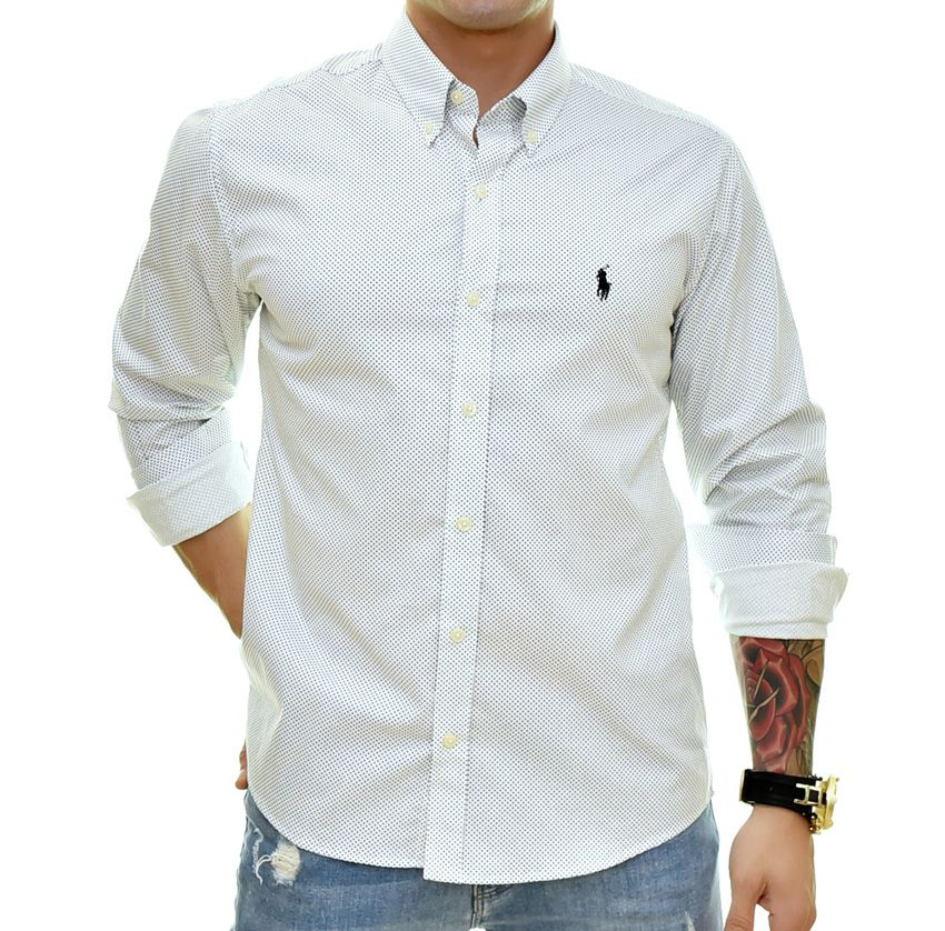 Camisa Social RL POÁ Branco - Custom Fit  - Ca Brasileira