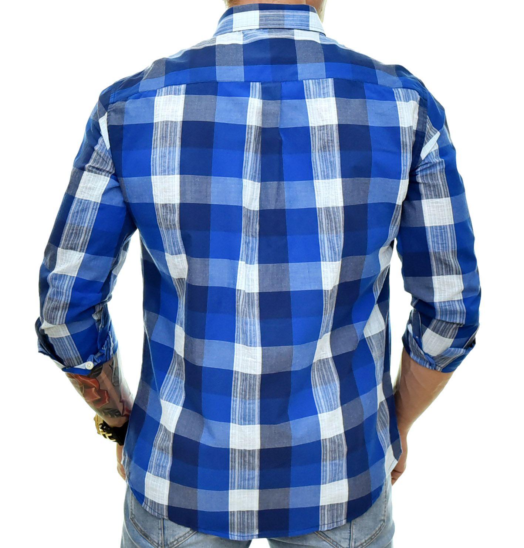 Camisa Social RL Xadrez Royal - Custom Fit  - Ca Brasileira