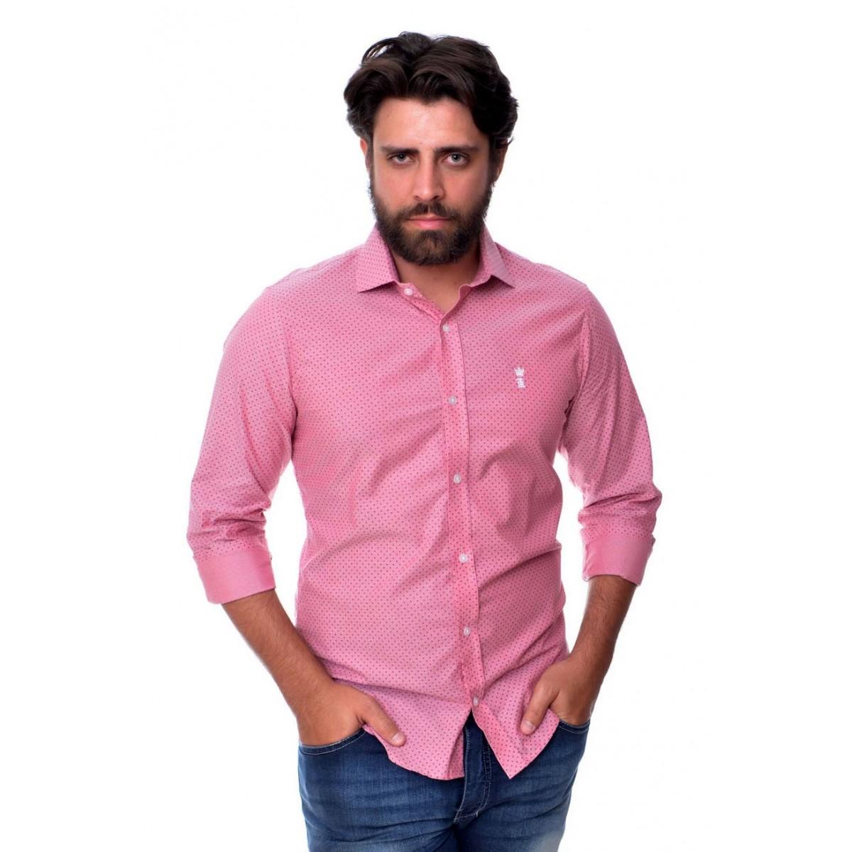 Camisa Social SK Rose