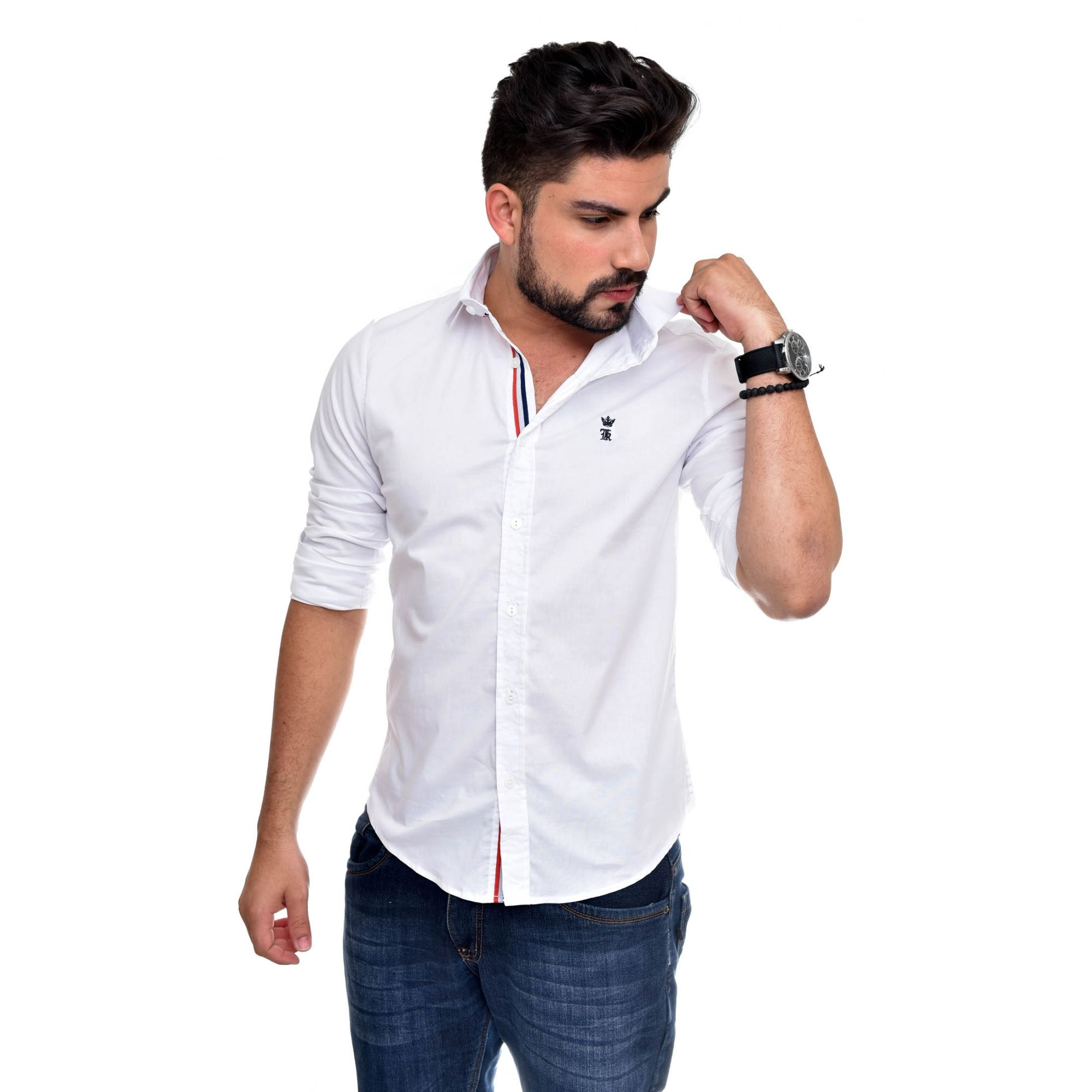 Camisa Social Sergio K Style Branca