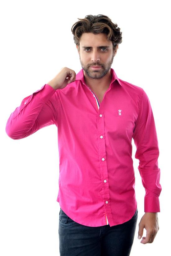 Camisa Social SK Style Pink