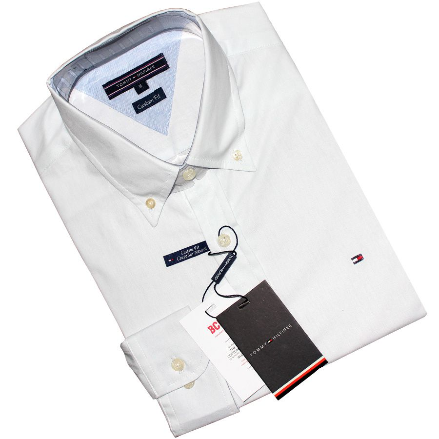 Camisa Social TH Branca  - Ca Brasileira