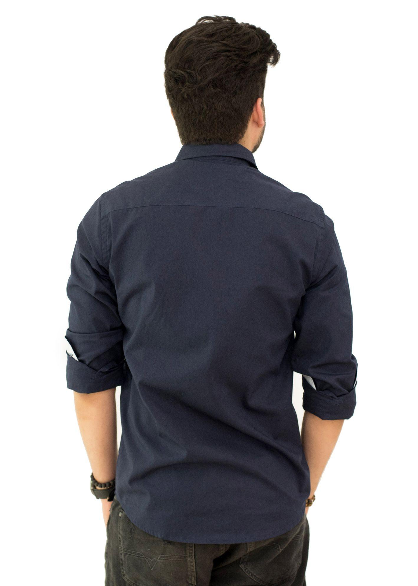 Camisa Social TH Marinho  - Ca Brasileira