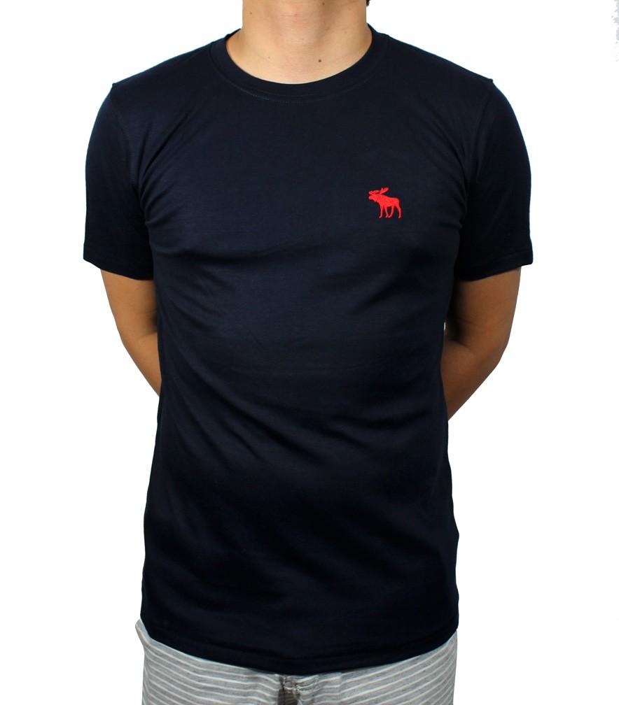 Camiseta ABR Azul Marinho Back  - Ca Brasileira