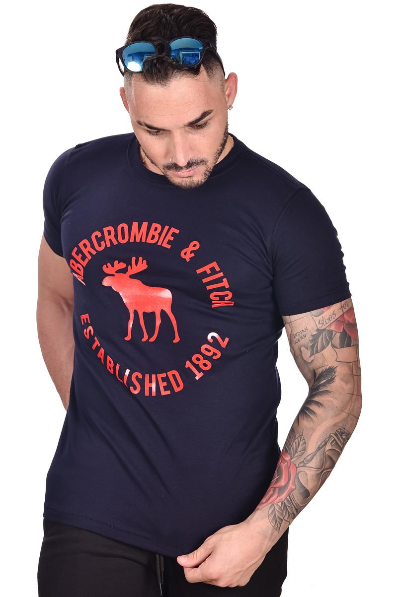 Camiseta ABR Azul Marinho Big Logo  - Ca Brasileira