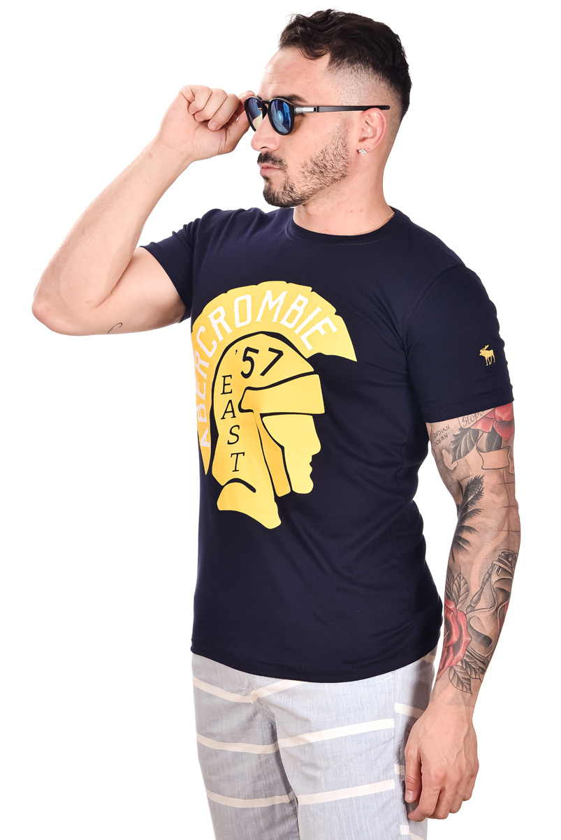 Camiseta ABR Azul Marinho Espartano  - Ca Brasileira