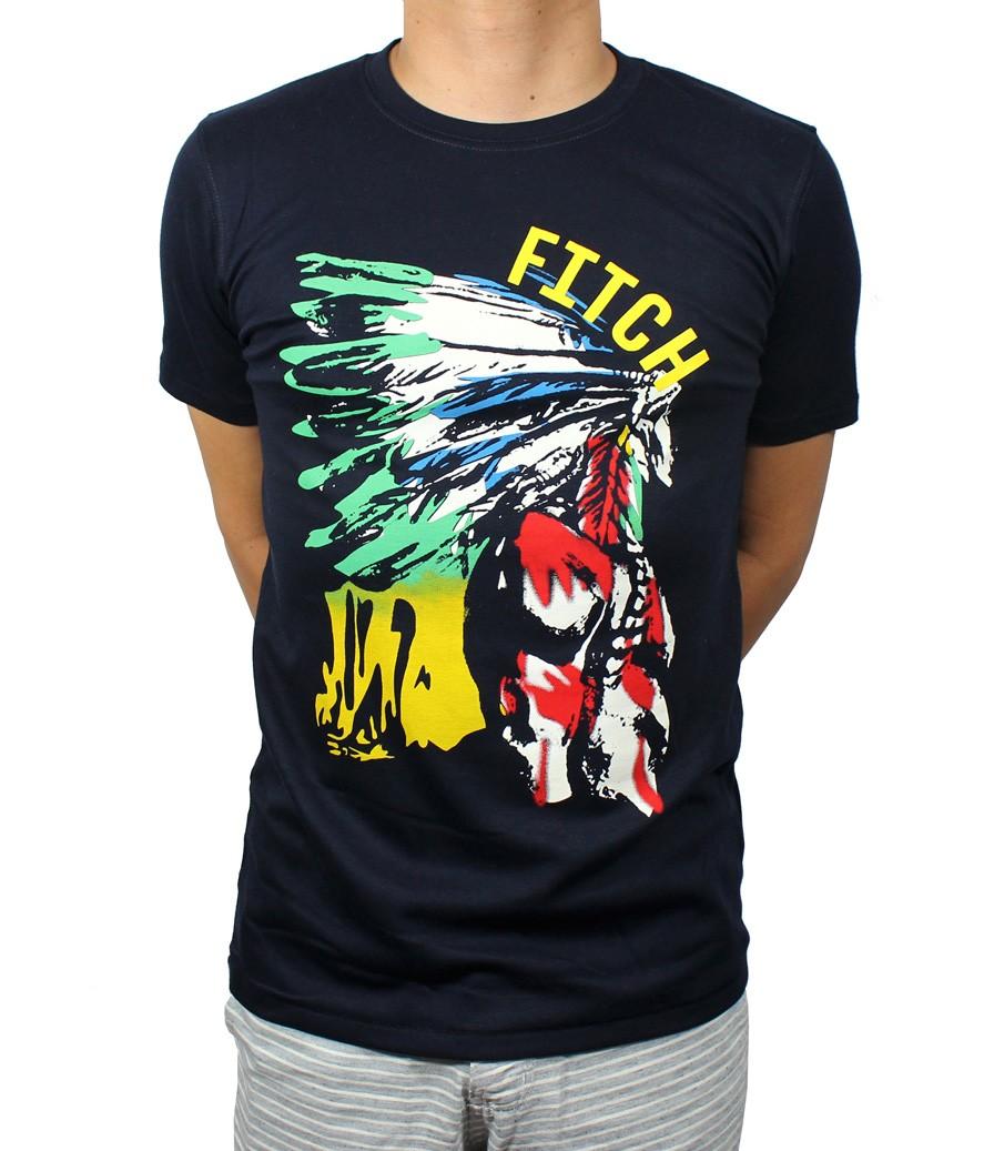 Camiseta ABR Azul Marinho Moicano   - Ca Brasileira