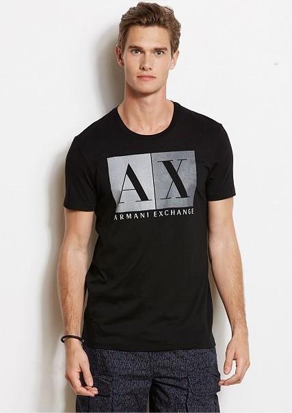 Camiseta AX Preta Blocks  - Ca Brasileira
