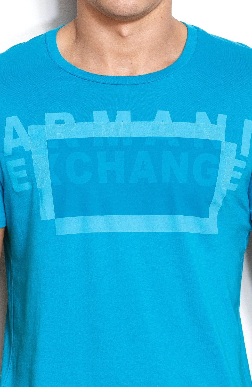 Camiseta AX Turquesa 131  - Ca Brasileira