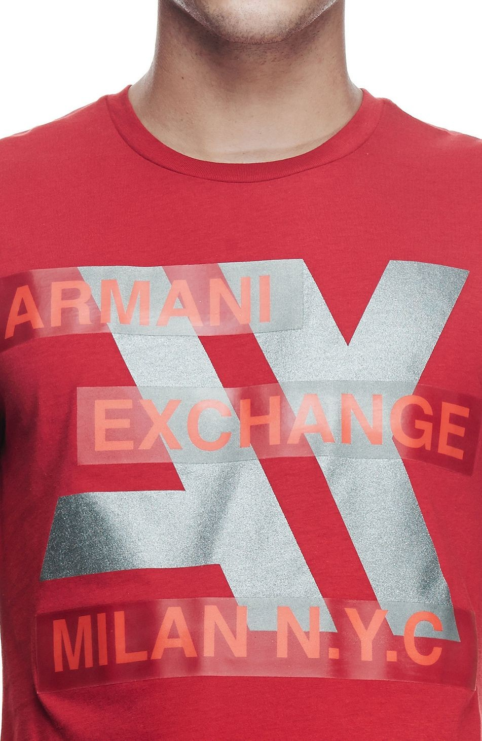 Camiseta AX Vermelha Tech  - Ca Brasileira