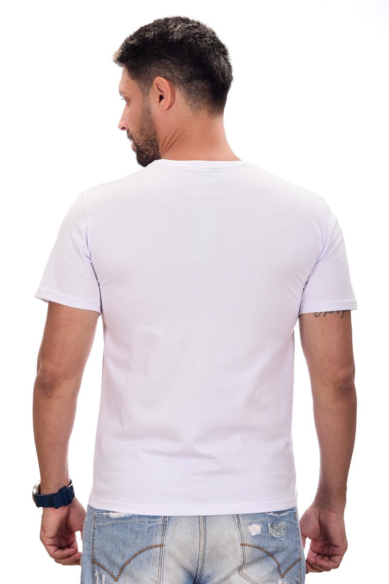 Camiseta Basic HB Branca  - Ca Brasileira