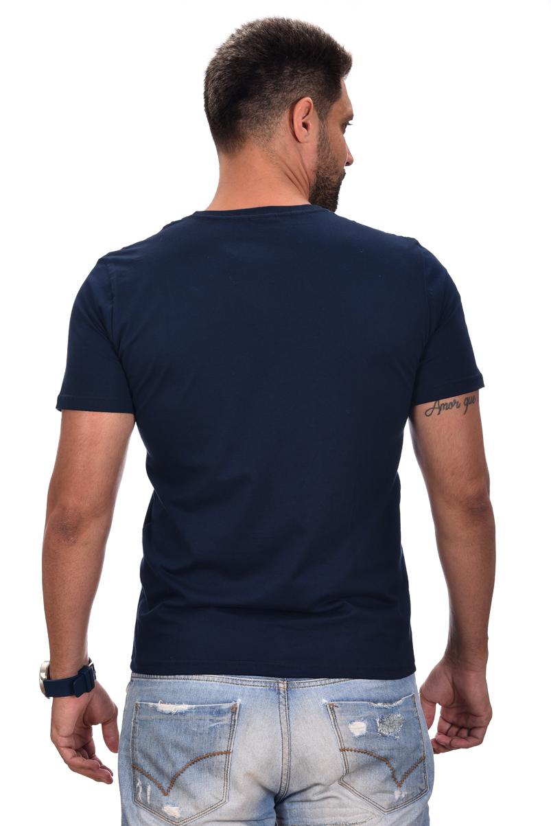 Camiseta Basic HB Marinho  - Ca Brasileira