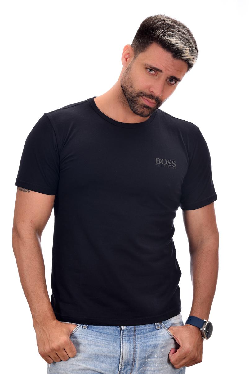 Camiseta Basic HB Preta  - Ca Brasileira
