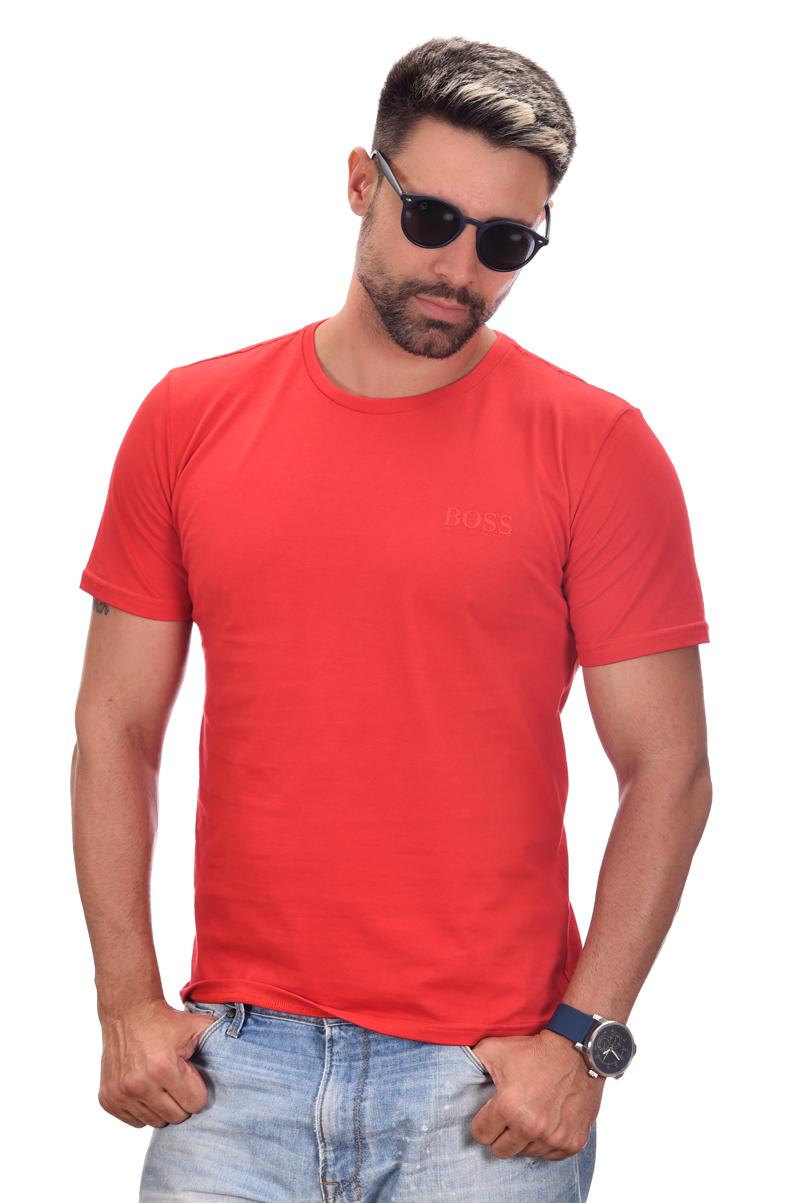 Camiseta Basic HB Vermelha  - Ca Brasileira