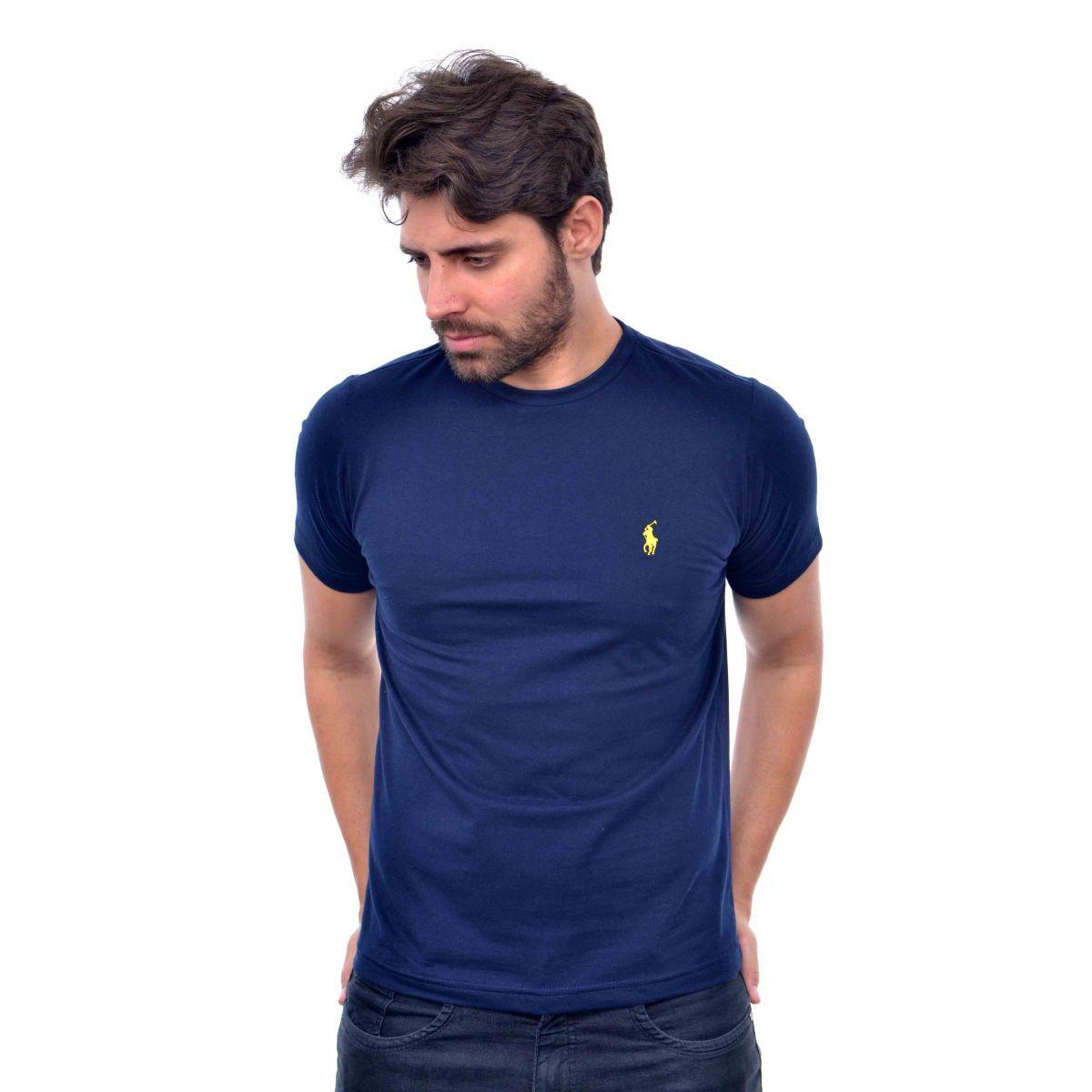 Camiseta Basic Ralph Lauren Azul Marinho