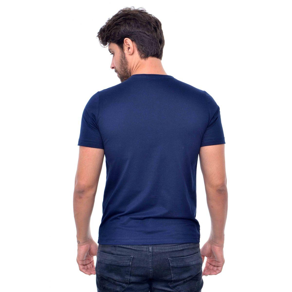 Camiseta Basic RL Azul Marinho  - Ca Brasileira