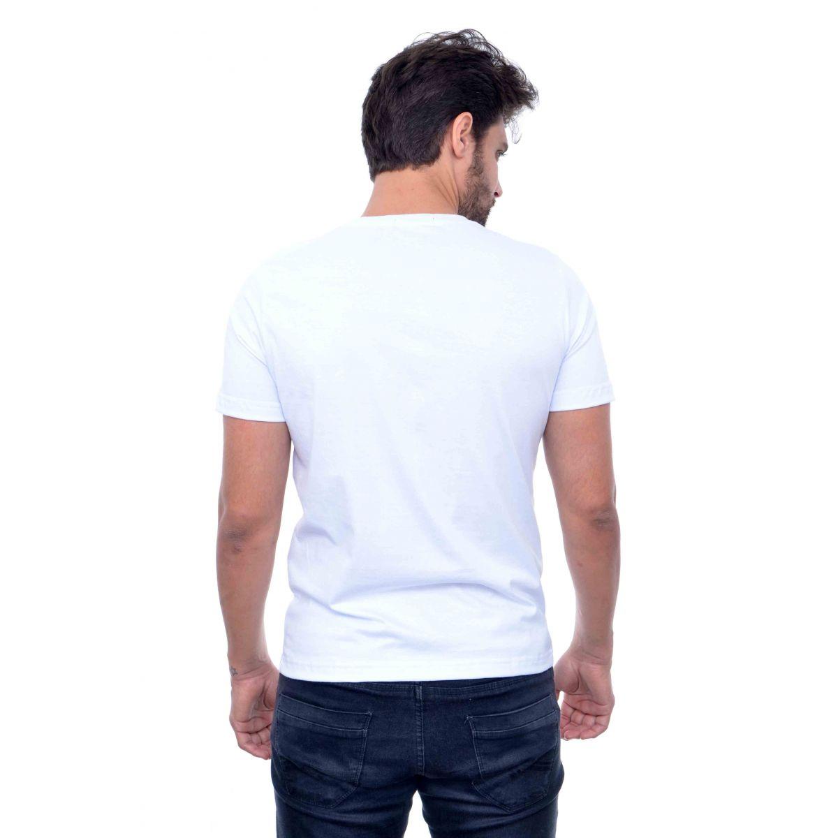 Camiseta Basic RL Branca  - Ca Brasileira