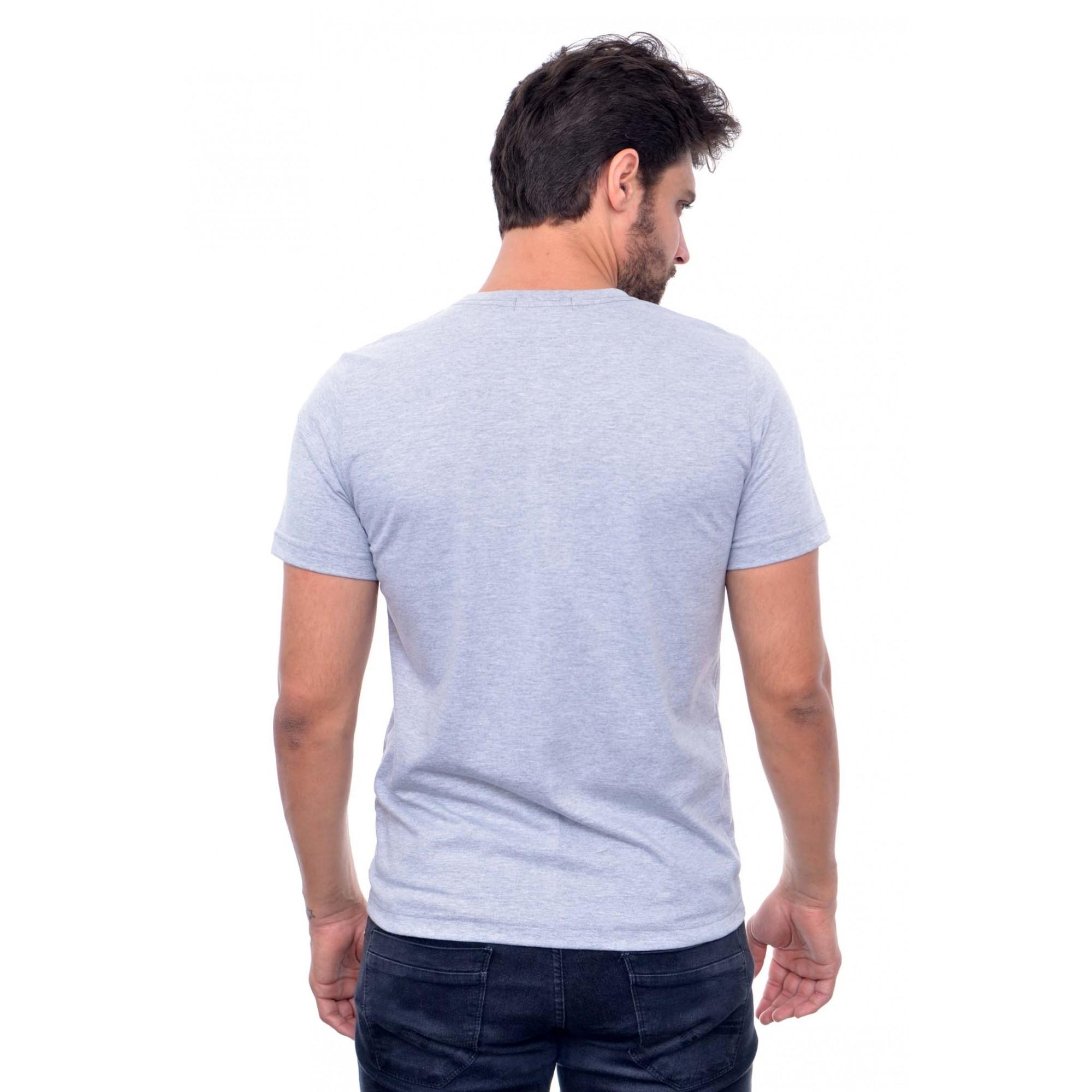 Camiseta Basic RL  Cinza 2  - Ca Brasileira