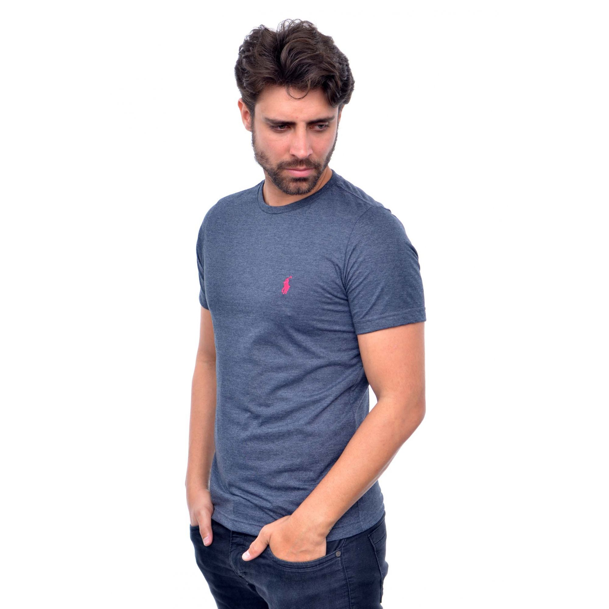 Camiseta Basic RL Mescla Escuro  - Ca Brasileira