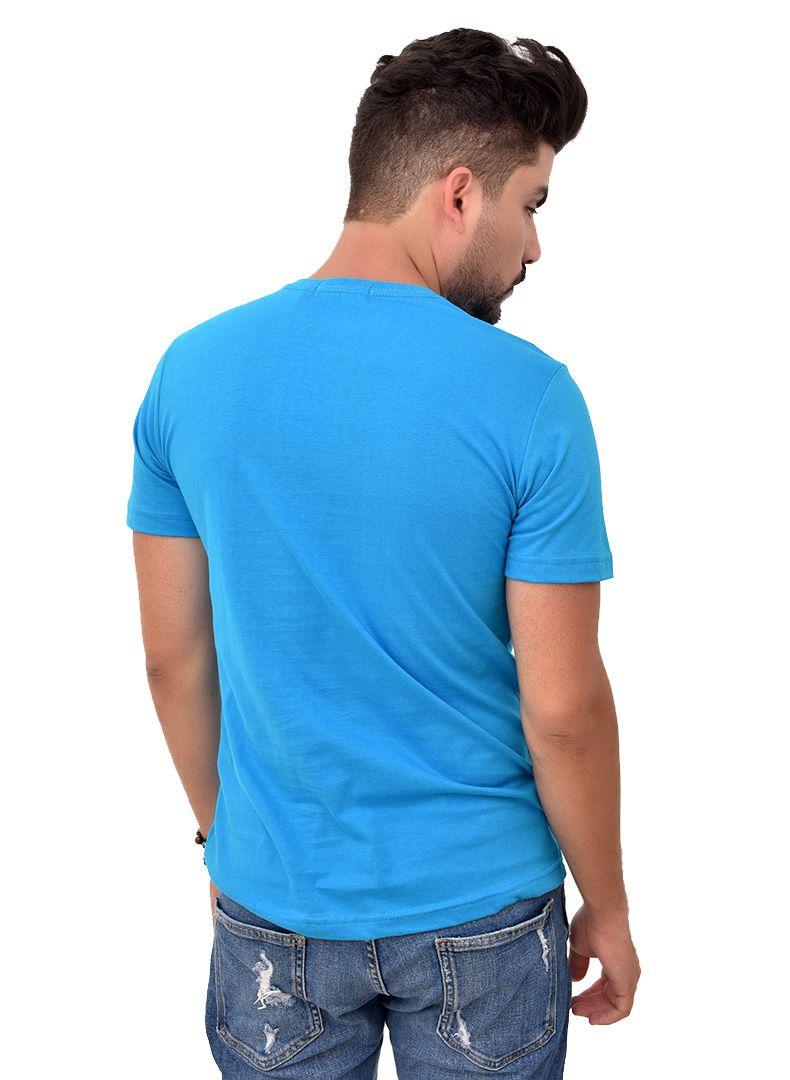 Camiseta Basic RL Turquesa   - Ca Brasileira