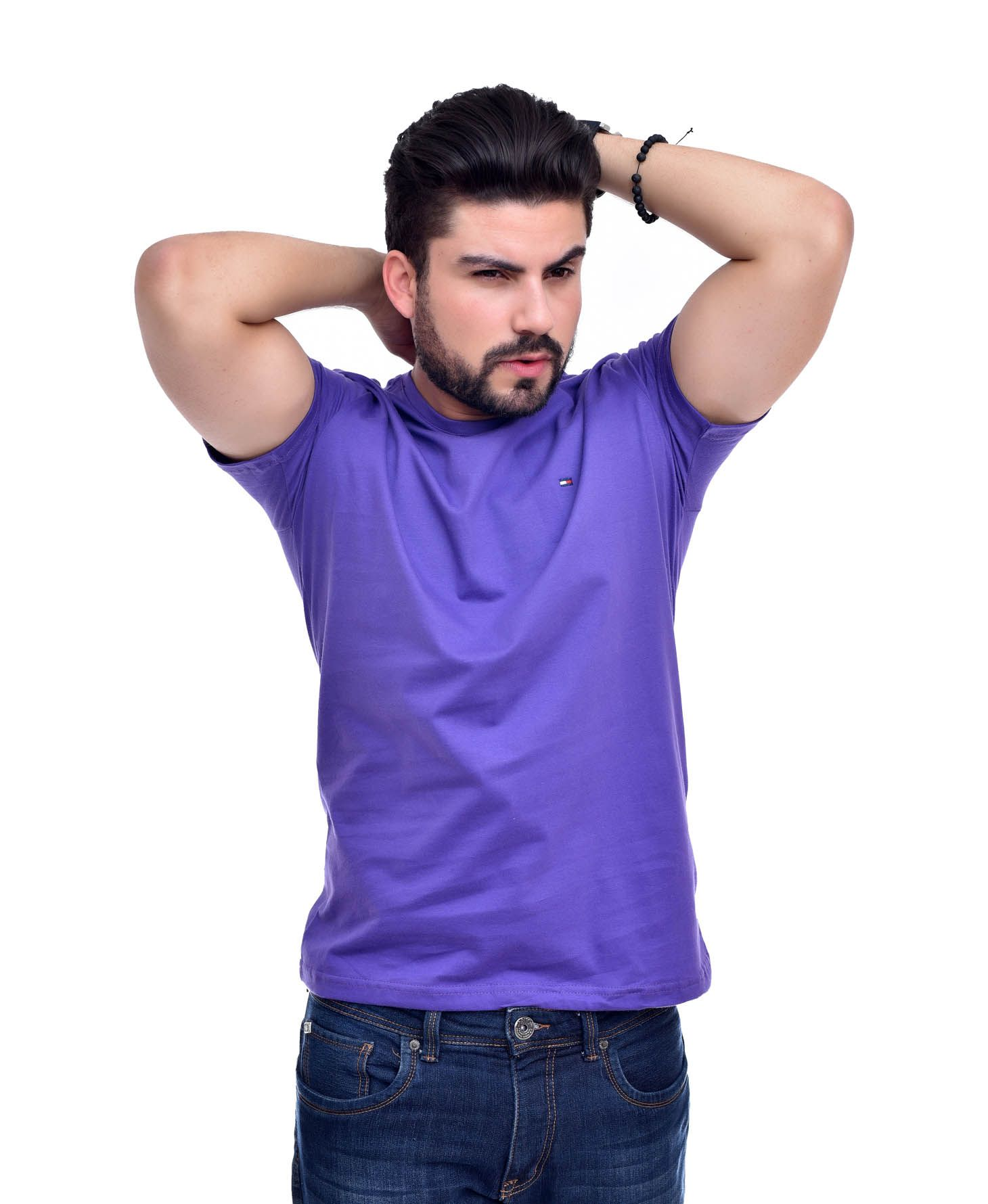 Camiseta Basic TH Lilas