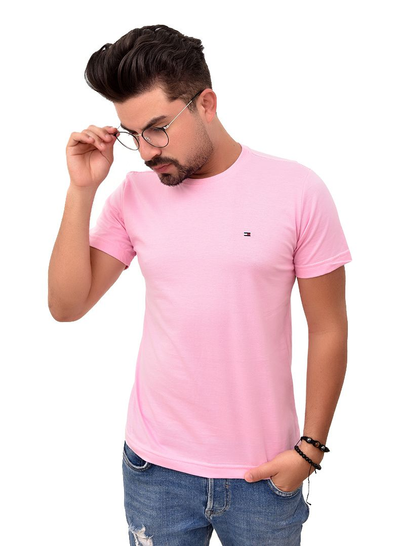 Camiseta Basic TH Rosa