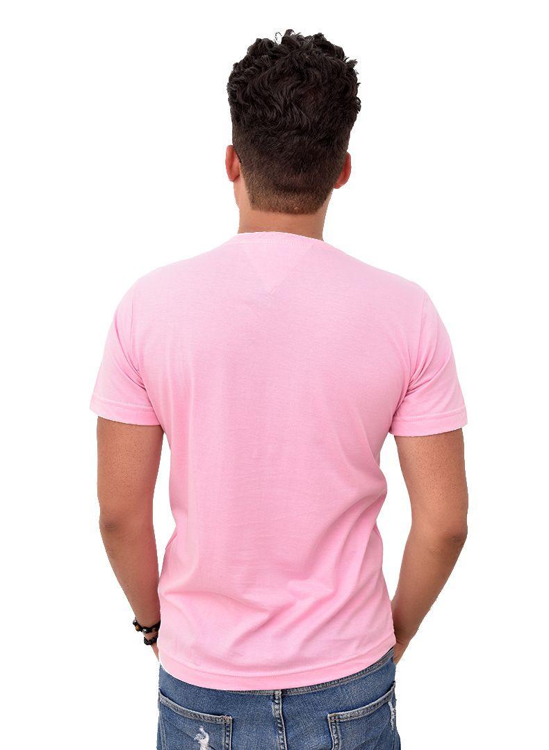 Camiseta Basic TH Rosa  - Ca Brasileira