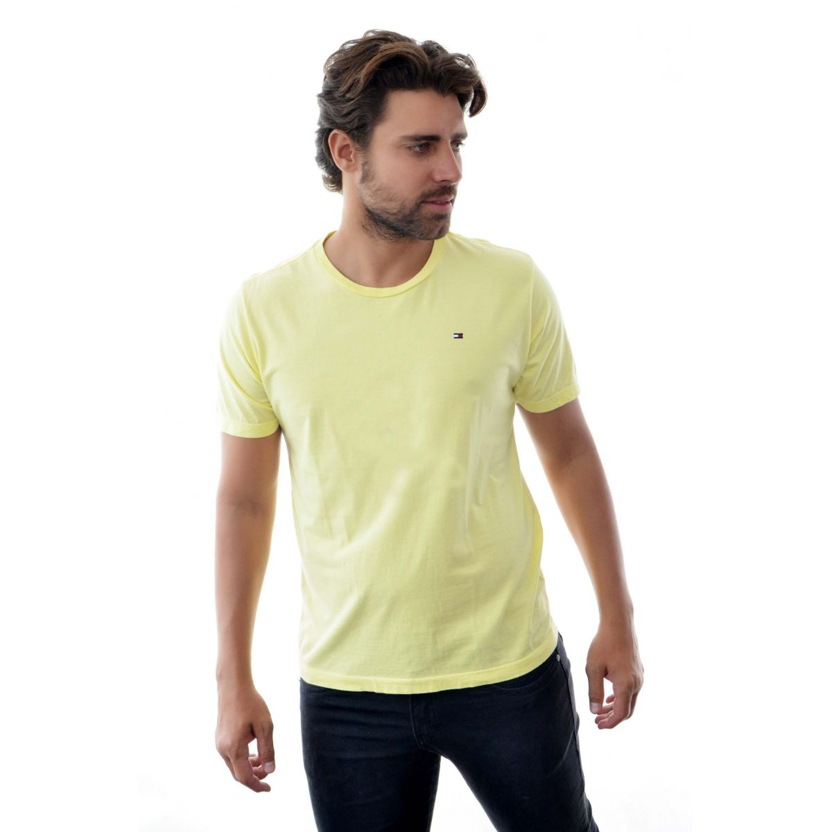 Camiseta Basic TH Amarela