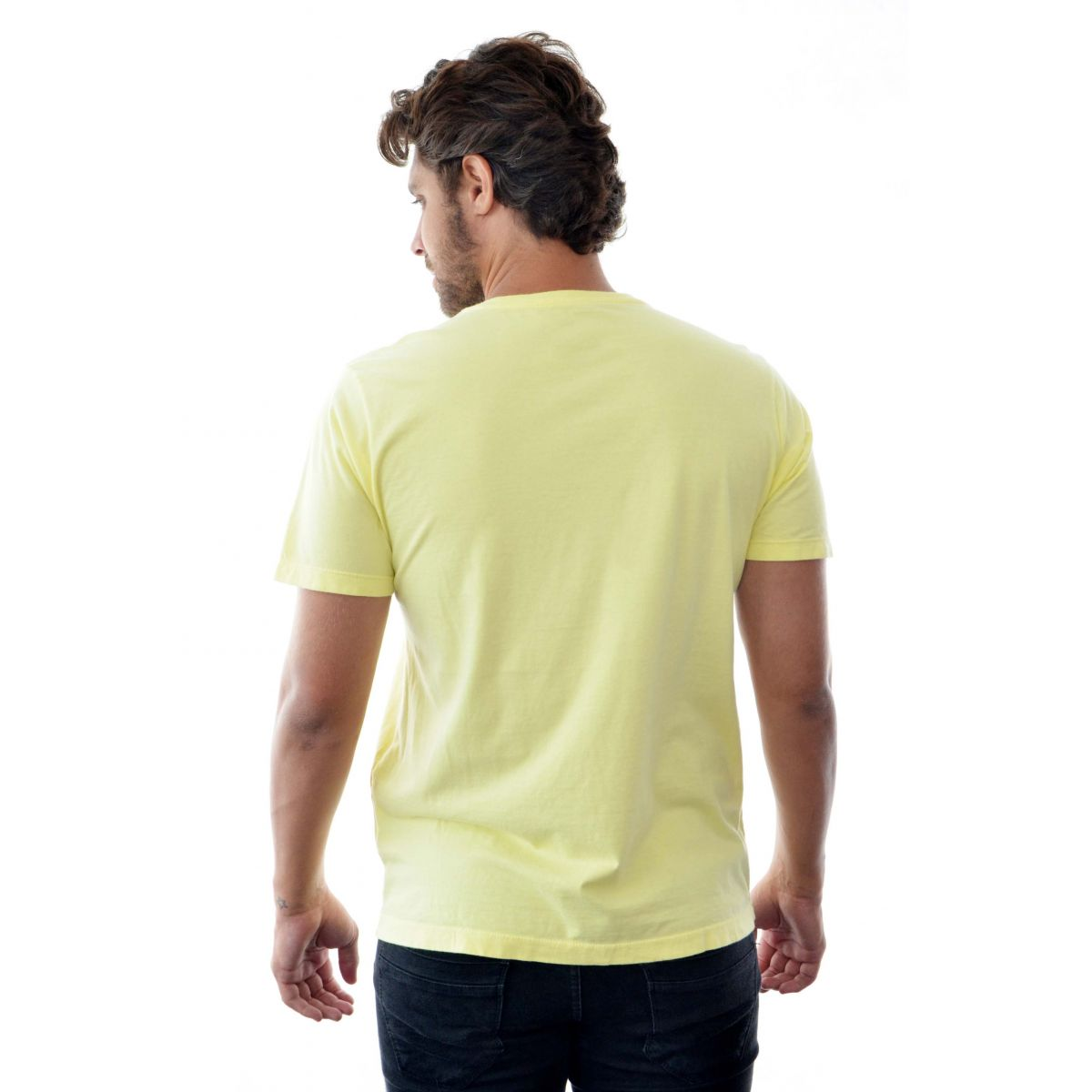 Camiseta Basic TH Amarela  - Ca Brasileira