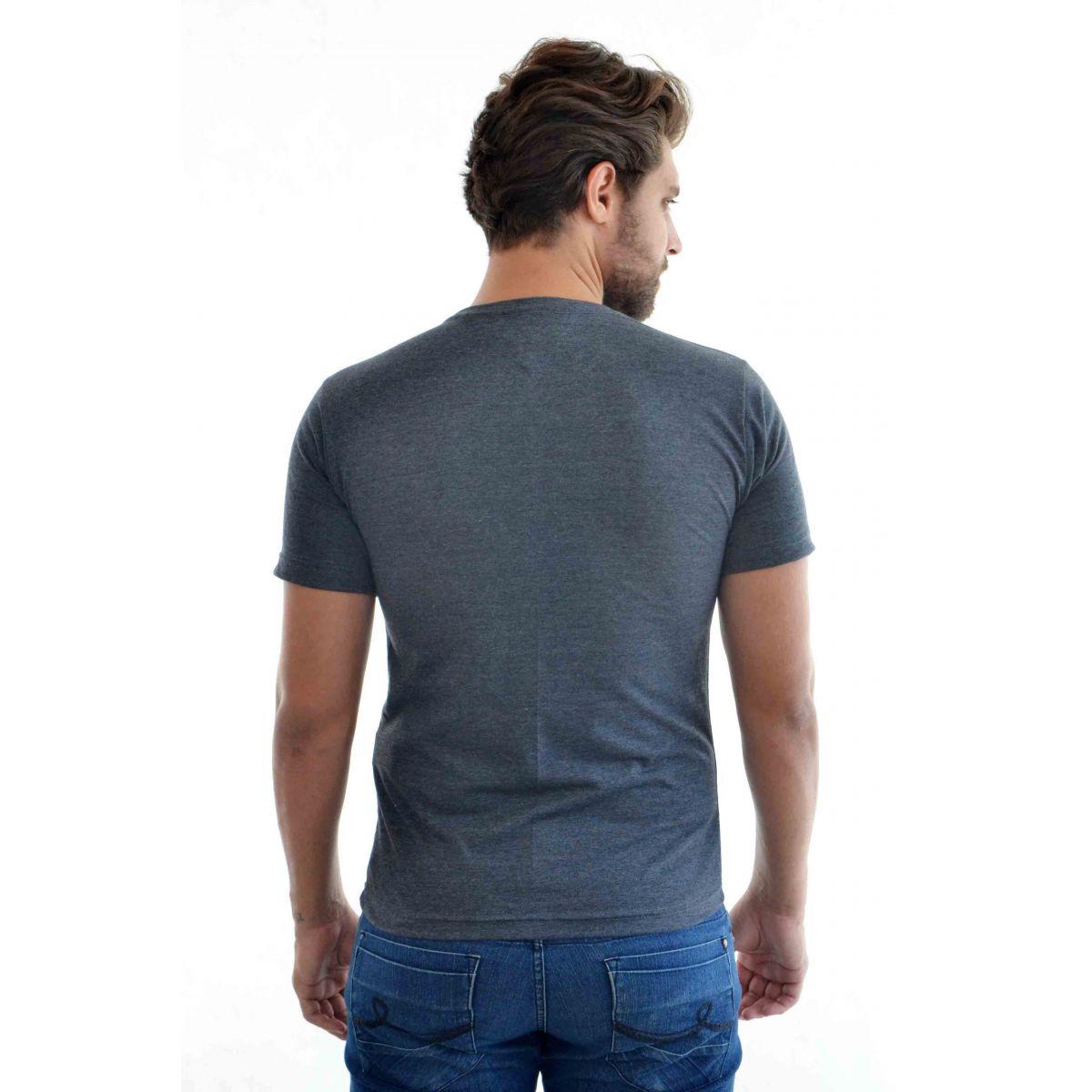 Camiseta Basic TH Mescla Escuro  - Ca Brasileira