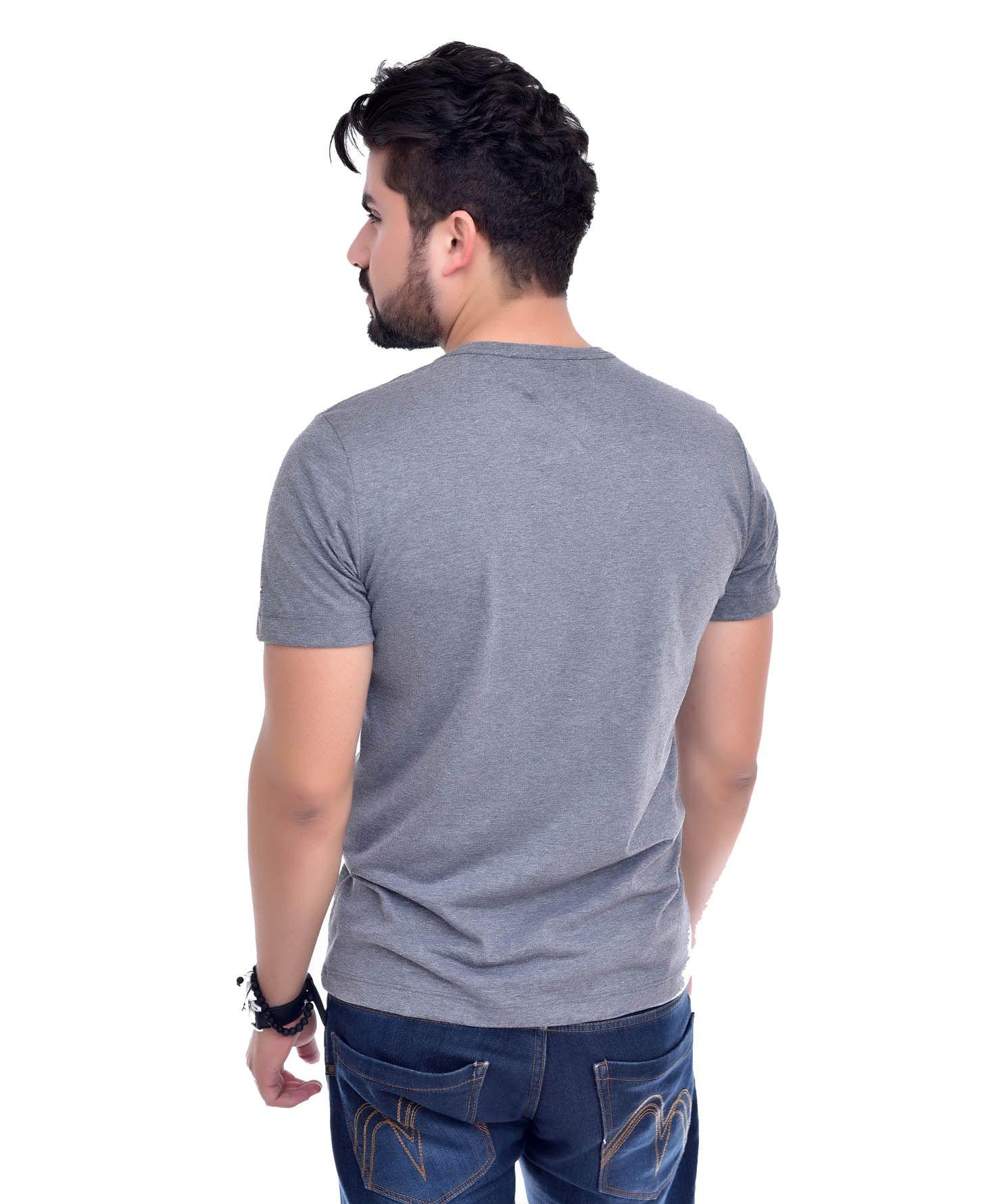 Camiseta Bolso TH Mescla Escuro / MC  - Ca Brasileira