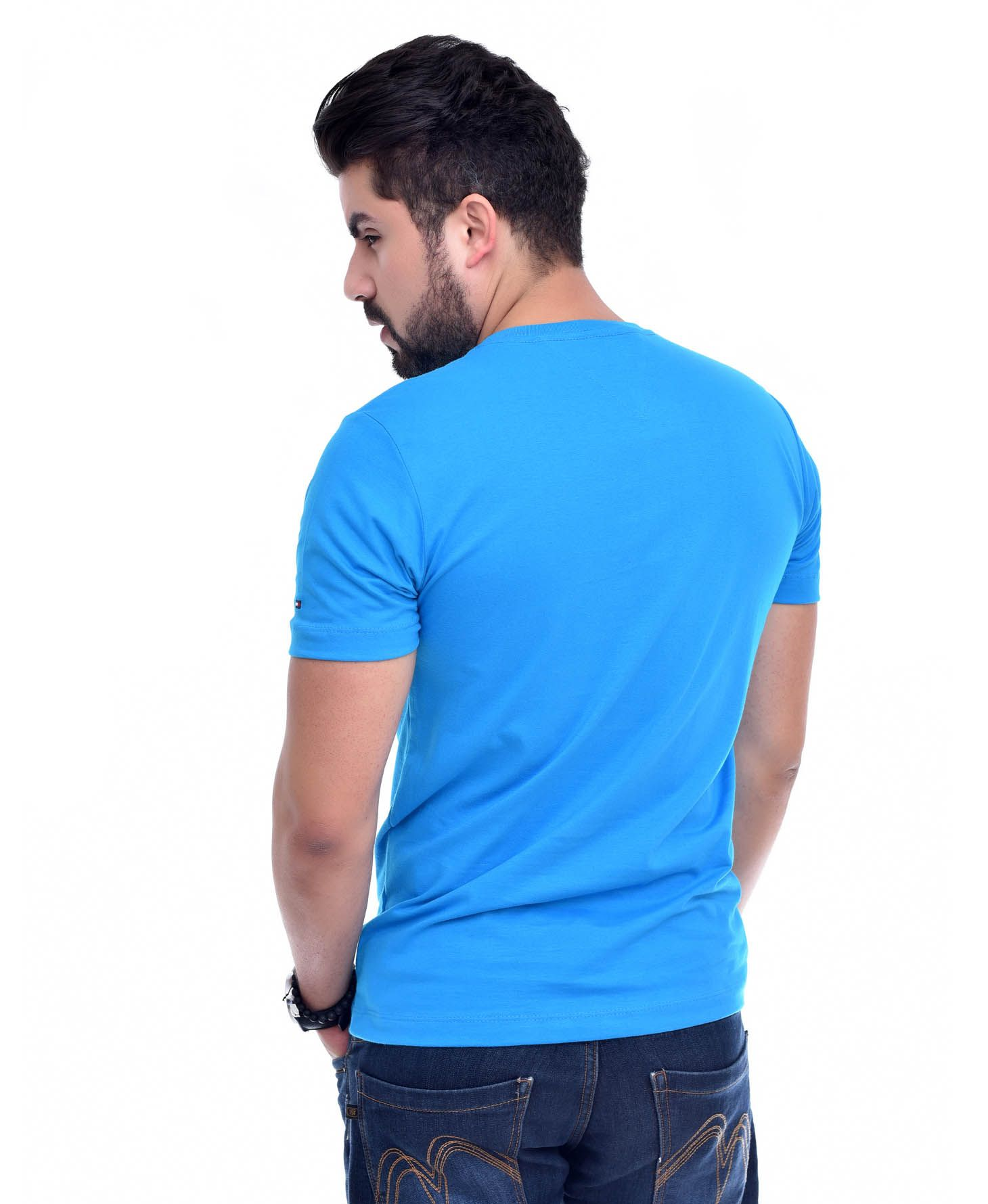 Camiseta Bolso TH Turquesa/TRQ  - Ca Brasileira