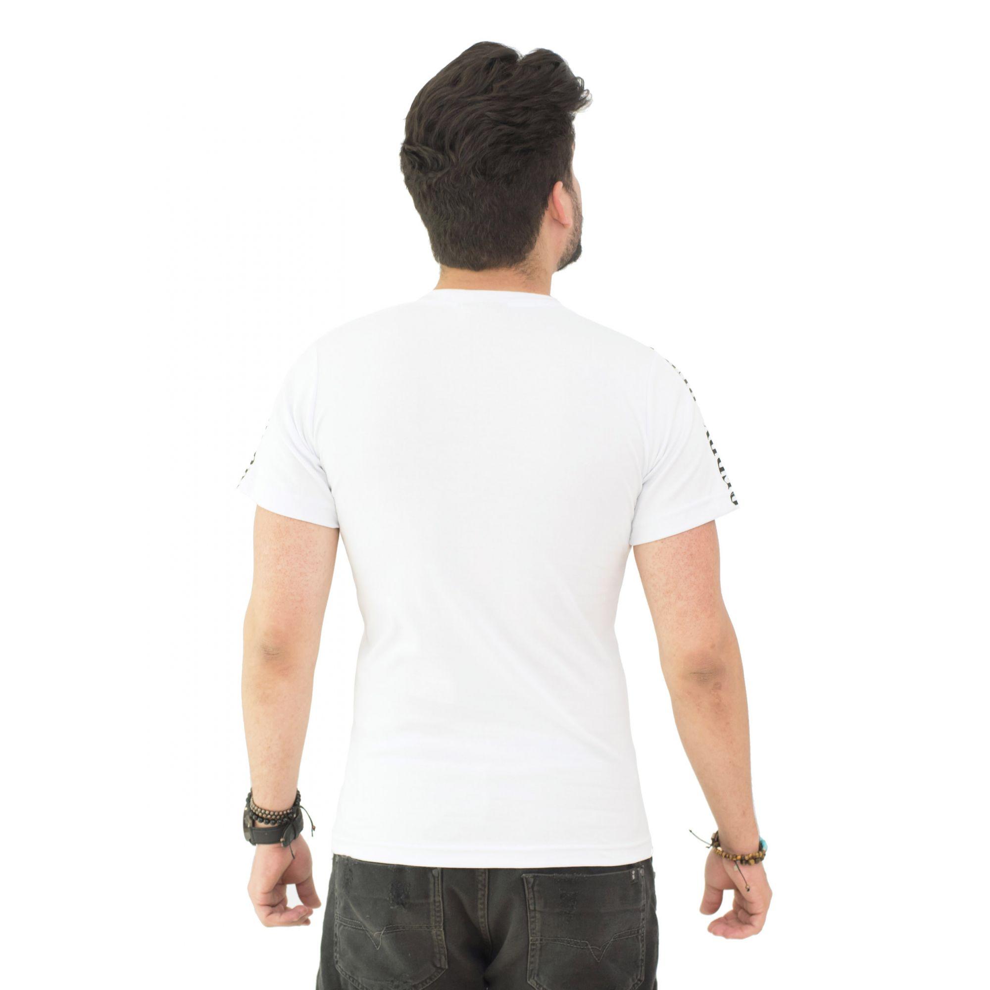 Camiseta Brb-02 Branca SLIM FIT  - Ca Brasileira