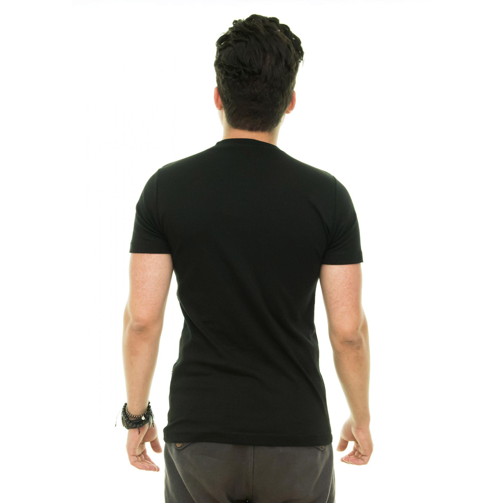 Camiseta Brb-02 Preta  - Ca Brasileira