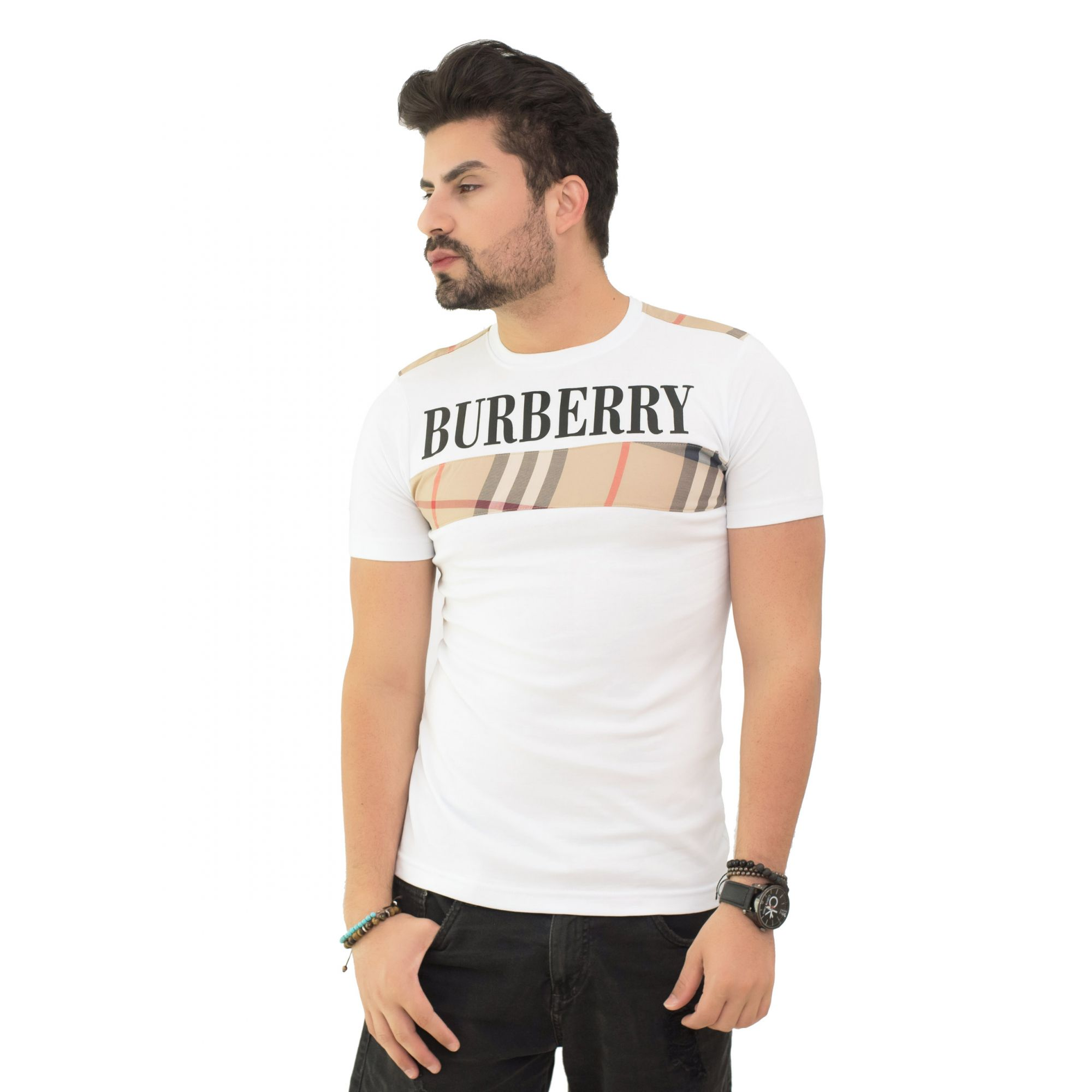Camiseta Brb-03 Branca SLIM FIT
