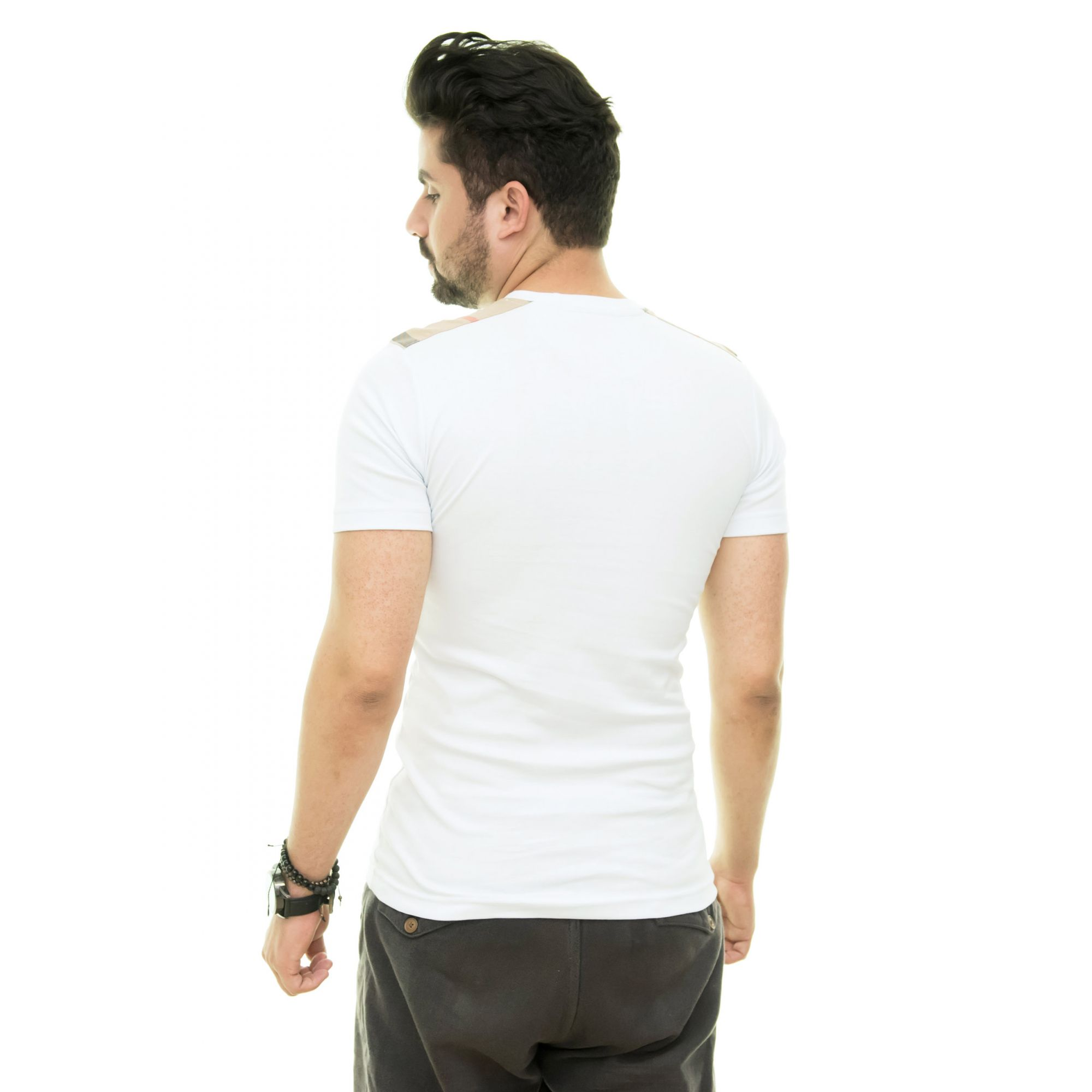 Camiseta Brb-03 Branca  - Ca Brasileira