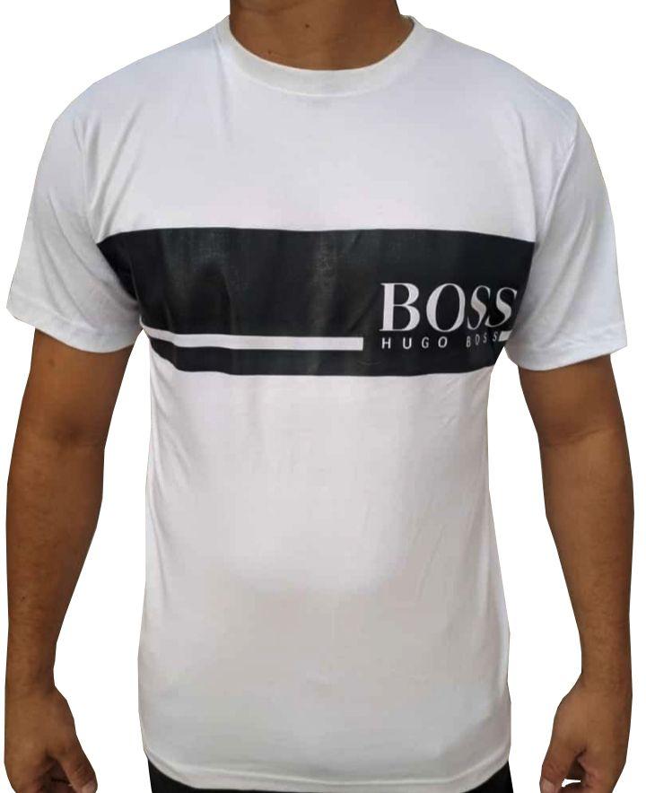 Camiseta HB Branca - 02  Slim Fit