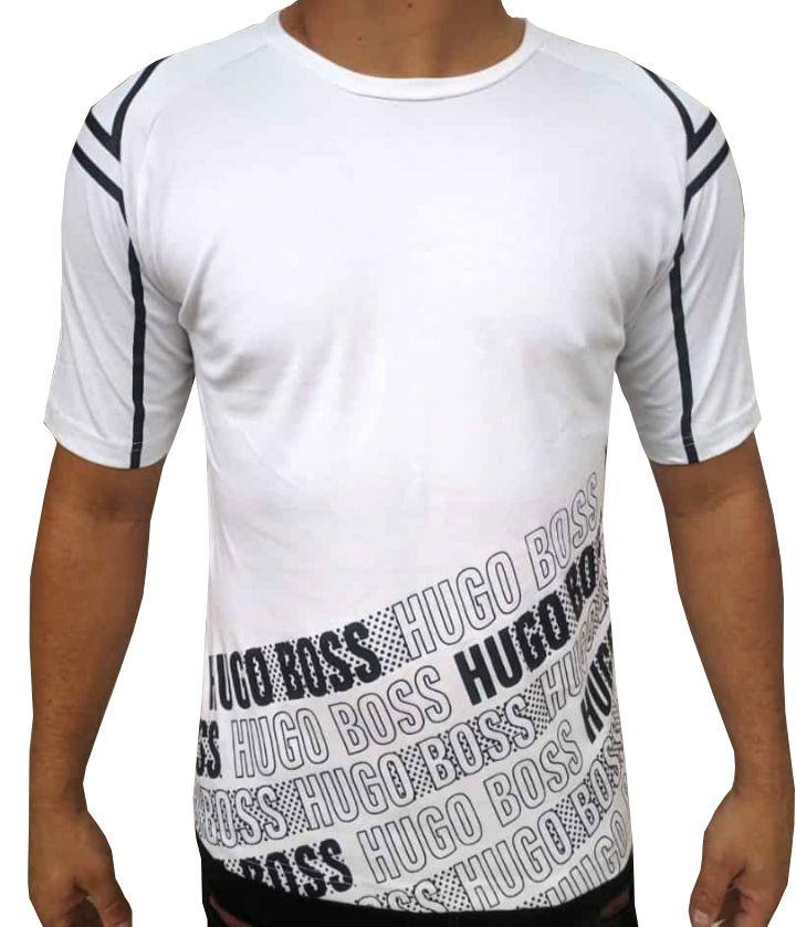 Camiseta HB Branca - 03  Slim Fit