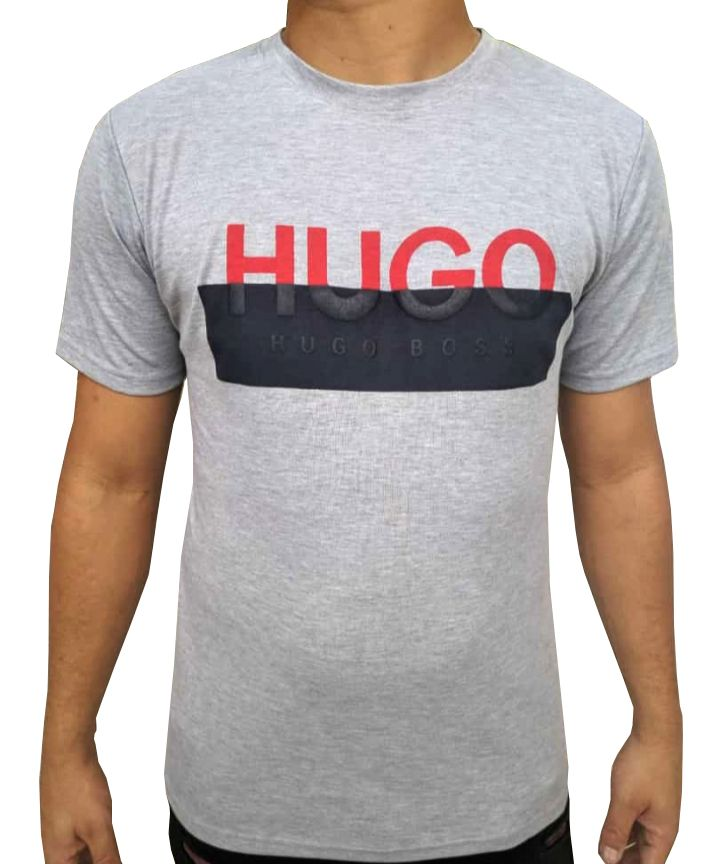 Camiseta HB Cinza - 01 Slim Fit