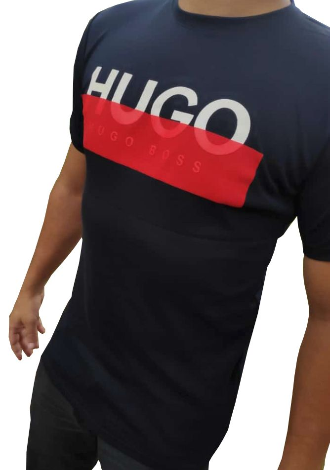 Camiseta HB Marinho - 01 Slim Fit