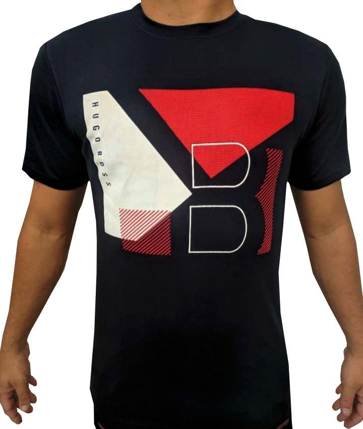 Camiseta HB Preta - 01 Slim Fit