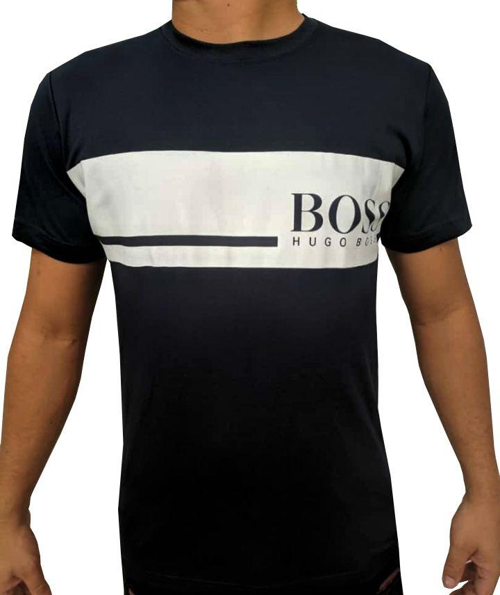 Camiseta HB Preta - 02 Slim Fit