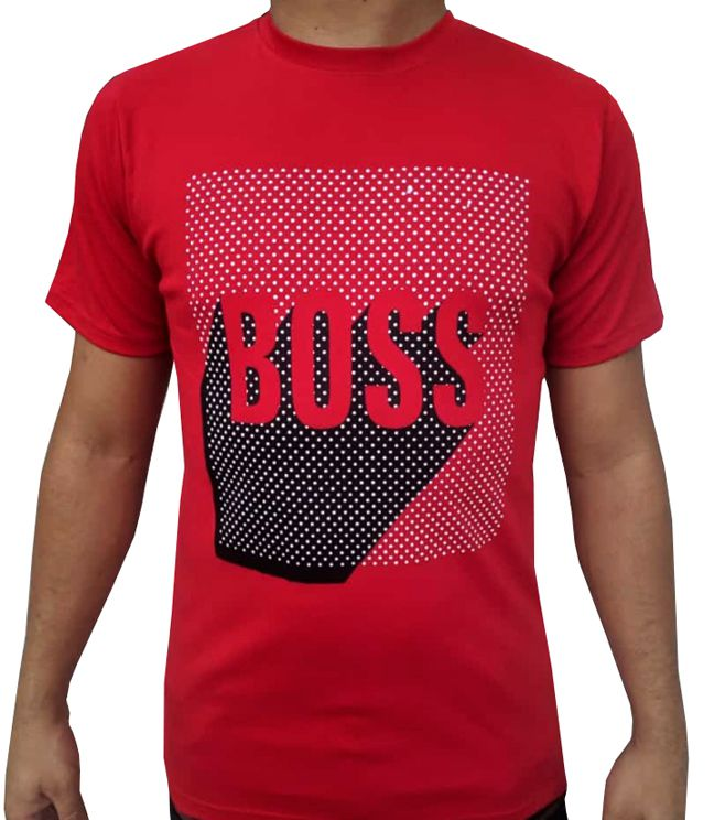 Camiseta HB Vermelha - 02 Slim Fit