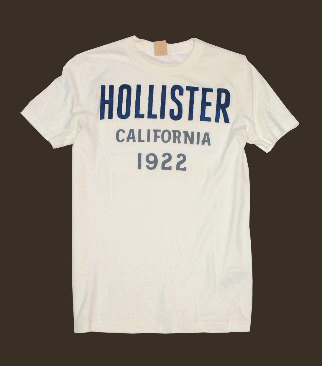 Camiseta Hollister 1922 Branca