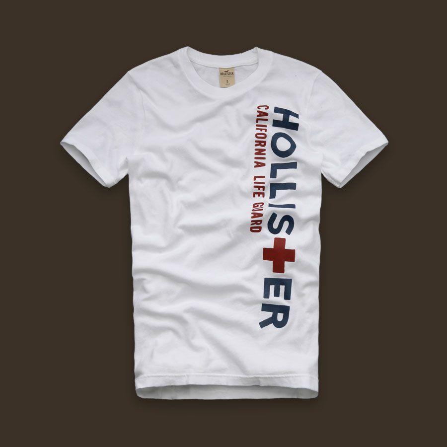 Camiseta Hollister California Branca