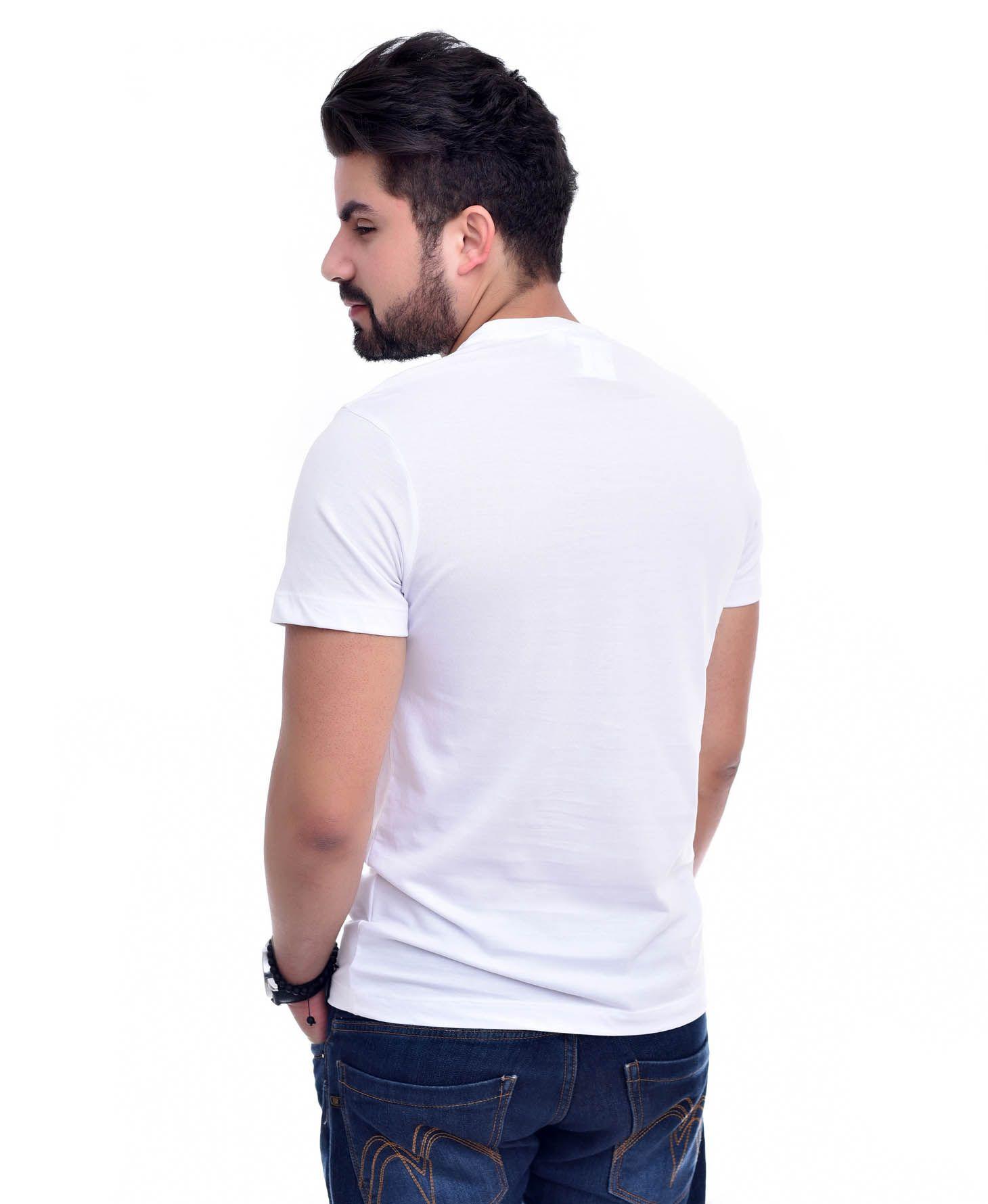 Camiseta L-03 Branco  - Ca Brasileira