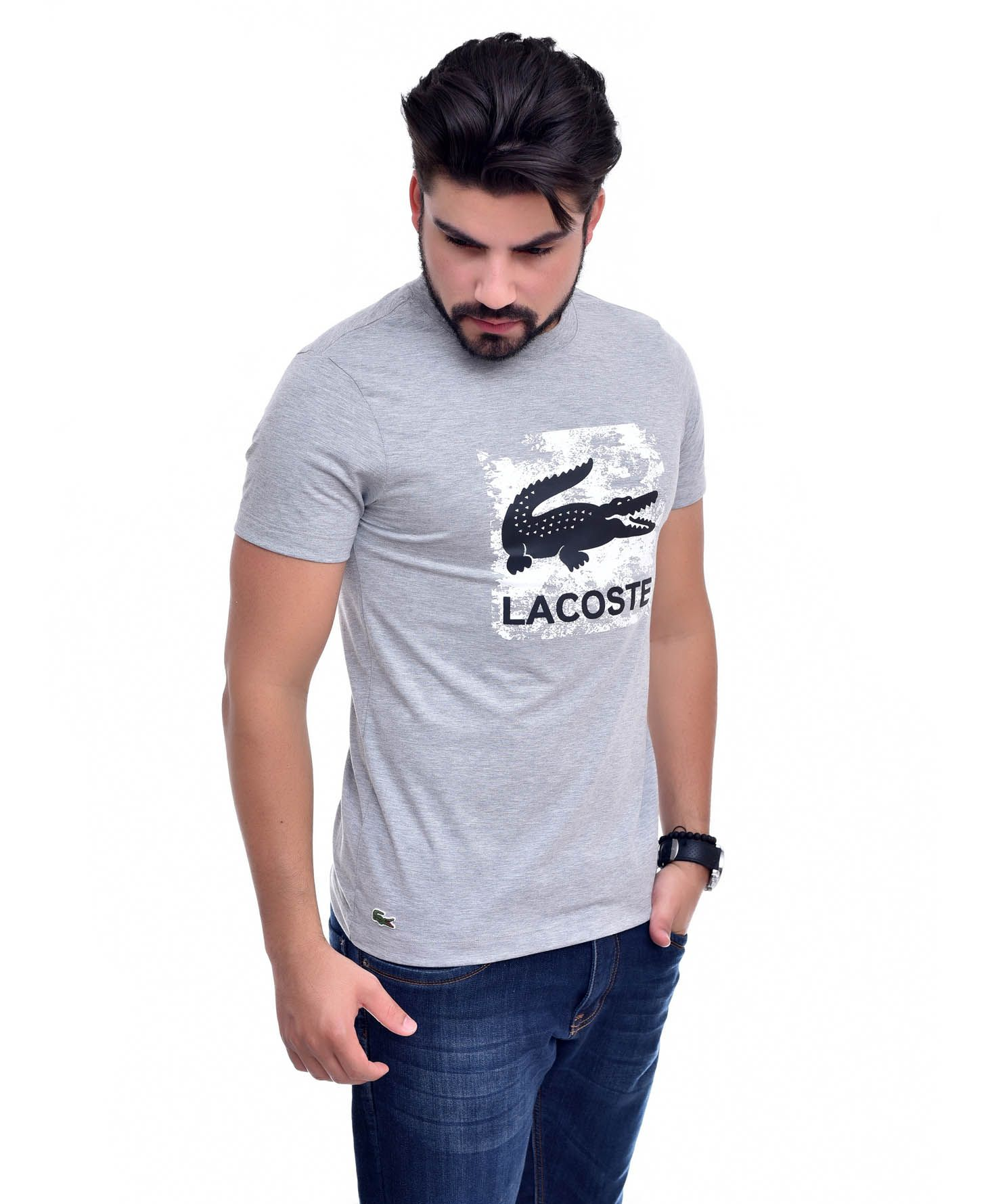 Camiseta L-06 Mescla Claro